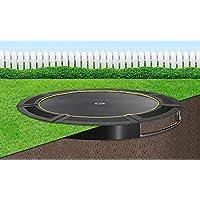 Flatground trampolin Capital Play 305 Schwarz Bodentrampolin