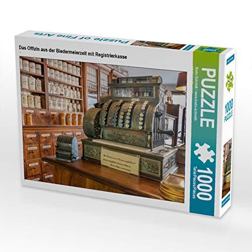 CALVENDO Puzzle Das Offizin aus der Biedermeierzeit mit Registrierkasse 1000 Teile Lege-Größe 64 x...