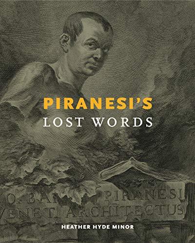 Piranesi's Lost Words Italienischen Barock-kunst
