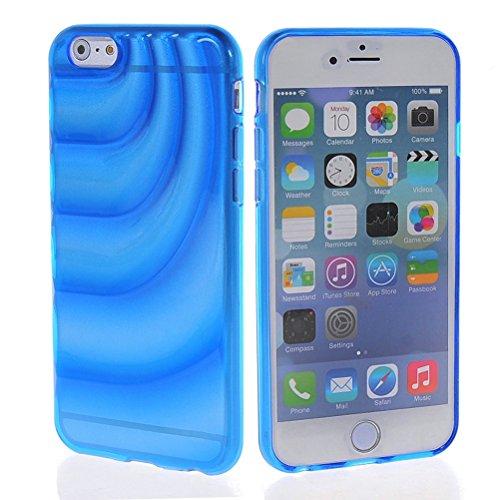 MOONCASE TPU Silicone Housse Coque Etui Gel Case Cover Pour Apple iPhone 6 Plus Vert saphir