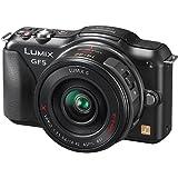 Panasonic Lumix DMC-GF5XEG-K Systemkamera (12 Megapixel, 7,5 cm (3 Zoll) Touchscreen, Full HD Video, bildstabilisiert) inkl. Lumix G Vario 14-42 mm Objektiv schwarz