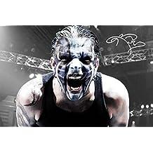 Jeff Hardy firmado impresión fotográfica–Excelente calidad–12x 8cm (A4)