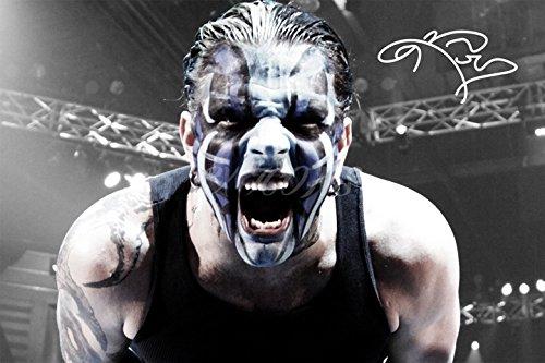 Jeff Hardy unterzeichnet Foto Print-großartige Qualität-30,5x 20,3cm (A4) (Wwe-uhr)