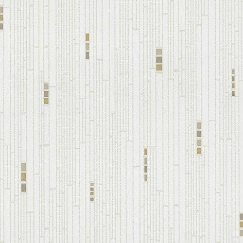Vliestapete Grafik creme beige P + S Pure + Easy 13275-Katzenminze 40Tapete