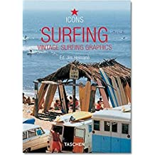 Surfing-trilingue: Vintage Surfing Graphics (Icons Series)