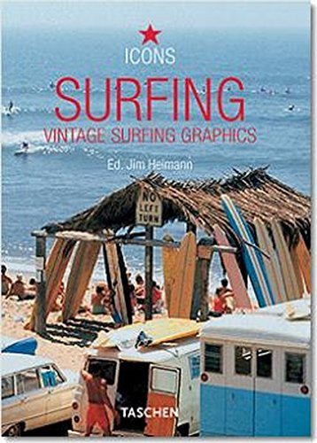Surfing-trilingue: Vintage Surfing Graphics (Icons Series) por Paul Mussa