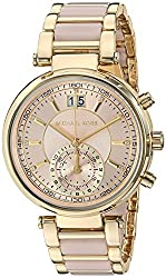 Michael Kors Analog Rose Gold Dial Womens Watch-MK6360