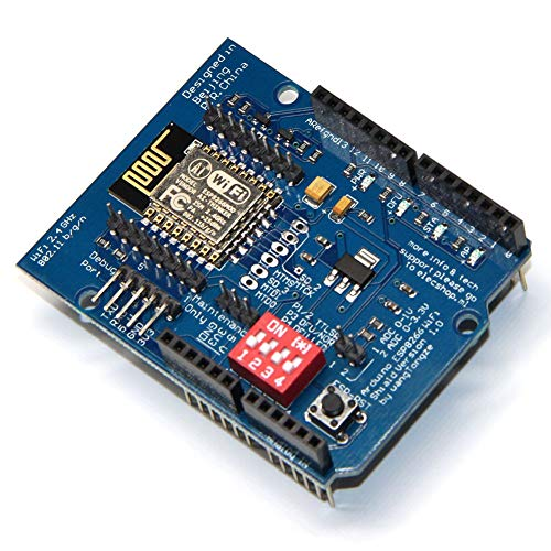 Alextry ESP8266 ESP-12E UART WiFi Wireless Shield Ttl Converter per Arduino Uno R3 Mega