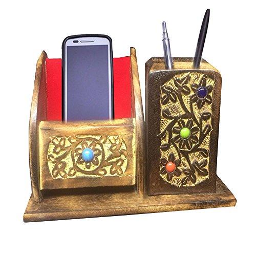 Zurück zu Schule Stifthalter Handmade Stift Stand für Home Office Schreibtisch Zubehör, Ostern Tag / Muttertag / Karfreitag Geschenk