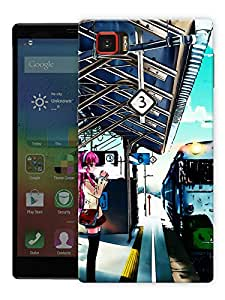 "Humor Gang Train Platform Life Printed Designer Mobile Back Cover For ""Lenovo Vibe Z2 Pro K920"" (3D, Matte Finish, Premium Quality, Protective Snap On Slim Hard Phone Case, Multi Color)"