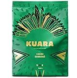 KUARA polvere di cacao con caffeina naturale di Guaranà | bevanda al cioccolato tonificante | Risvegliante Cacao Caffeina - 250g