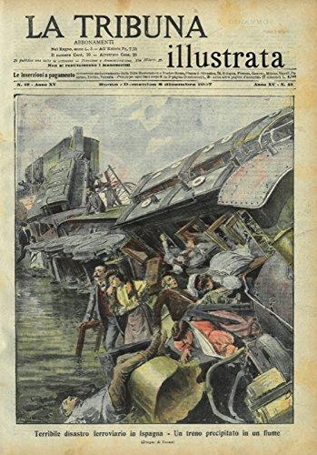 Terribile disastro ferroviario in Ispagna. Un treno precipitato in un fiume.