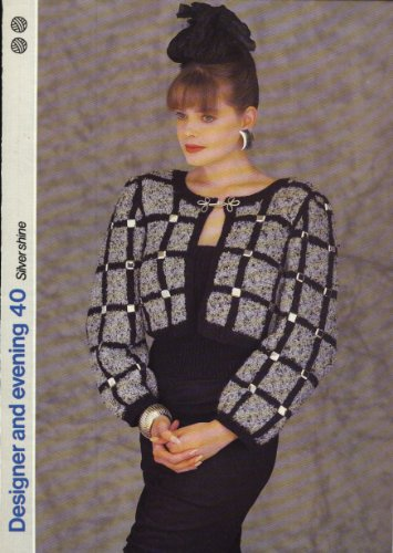 GET KNITTING knitting pattern LADIES ELEGANT BOLERO AND BOOB TUBE (34-38in) (Designer and Evening)