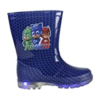 PJ MASKS PVC Rain Boots with LED Lights