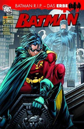 Batman Sonderband #21: Batman R.I.P.- Das Erbe (2009, Panini) -