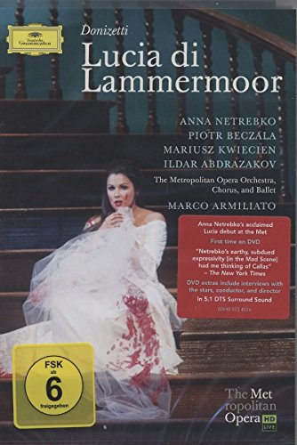 Donizetti - Lucia di Lammermoor [Blu-ray] (Film Lammermoor Lucia Di)