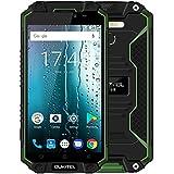 OUKITEL K10000 MAX - 5,5 Zoll FHD IP68 Wasserdicht / Shockproof / Staubdichtes Smartphone mit 10000mAh Akku, Android 7.0 Octa Core 1.5GHz, 3GB RAM + 32GB ROM, Superpower LED Taschenlampe, 8MP + 16MP Kamera - Grün