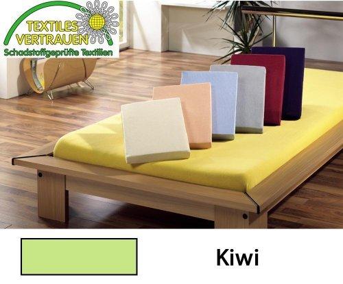 Jersey Spannbetttuch Spannbettlaken Bettlaken 3 Größen Farbe wählbar