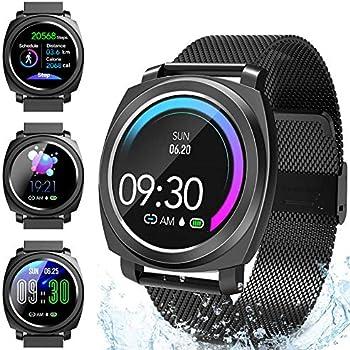 CatShin Smart Watch Tracker de Actividad, Pantalla táctil ...