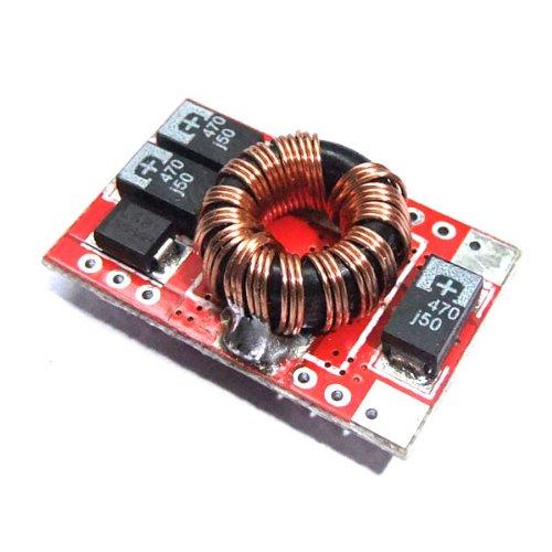 Preisvergleich Produktbild DEOK DC-DC-Spannungswandler 3V bis 5V Konverter Stromversorgungsmodul Ladegerät Ultra Small Spannungswandler -Boost-Modul Voltage Regulator Up Converter hohe Konversionseffizienz mit LED-Anzeige Schritt Erhöhung für Telefon MP3 MP4 PSP Lade