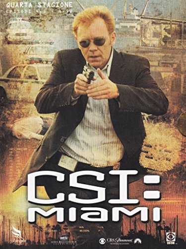 CSI - Miami Stagione 04 Episodi 01-12 [3 DVDs] [IT Import] (Taylor Brooke And Young)