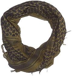 Le shemagh ou keffieh est un grand morceau de tissu à utilisations multiples : autour du coup pour se protéger du froid, autour de la tête pour se protéger du vent ou du sable, ou encore remonté sur la tête et le nez dans un but de camouflage.