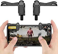 Generic Mobile Phone Gamepad Trigger Fire Shooter Controller Button Aim Key for PUBG Mobile Gaming Battleground Rules of Survival Online Gaming Accessories-Quick Shooting Aid Joysticks Aim Key L1 R1