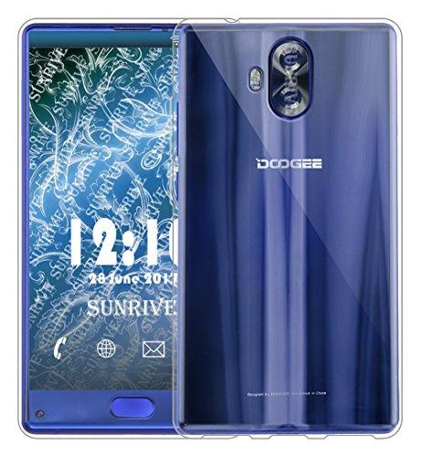 Für DOOGEE MIX Lite Hülle Silikon,Sunrive Transparent Handyhülle Schutzhülle Etui Case Backcover für DOOGEE MIX Lite 5,2 Zoll(tpu Kein Bild)+Gratis Universal Eingabestift