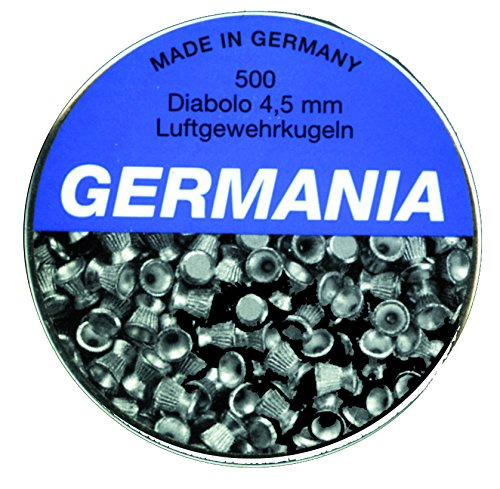 Jehn Germania Diabolokugeln 4, 5mm 500er Pack grau, Dose