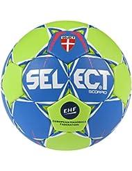 Select Scorpio de balonmano, color azul y verde, tamaño 3