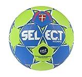 Select Unisex Scorpio de balonmano, color azul y verde, tamaño 3