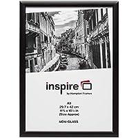 Photo Album Company - Marco de fotos (tamaño A3, 420 x 297 mm), color negro