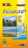 Fehmarn: 1:12.500 Ortspläne mit Inselkarte 1:30.000 inkl. Radrouten, Surf- und Angelplätzen (KVplan-Kombi-Reihe)