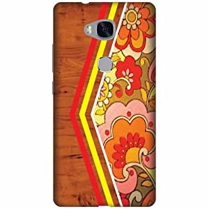 Huawei Honor 5X Plastic Back Cover - Multicolor Designer Cases Cover By Printland