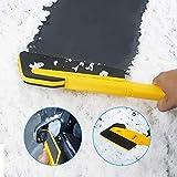 Cozywind Abnehmbarer Schneeschaufel, 1 Stück, abnehmbar, multifunktional, Auto-Windschutzscheibe, Schneeschaufel, Auto, Schneeschaber, Fahrzeug, Schnee, Reinigungswerkzeug