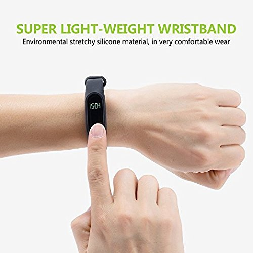 Bingo M2 Waterproof Smart Fitness Band (Black)