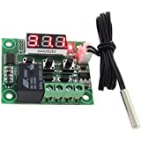Centiot W1209 LED Digital Thermostat/Temperature/Thermo Controller Switch Module DC 12V Waterproof NTC Sensor