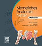 Mémofiches Anatomie Netter - Membres (French Edition)