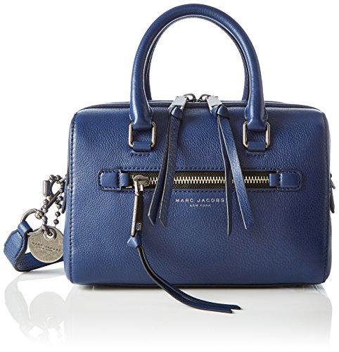 Marc Jacobs M0009632_Mink, Borsa a Mano Donna, Blu (Dark Blue), 16x19x27 cm (B x H x T)