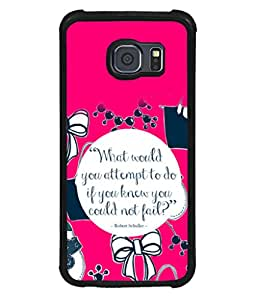 printtech Cool Quotes Life Back Case Cover for Samsung Galaxy S6::Samsung Galaxy S6 G920