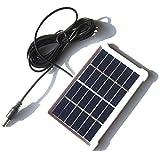 TOOGOO 1W 6V Panel Solar Policristalino Placa de Vidrio Laminado Con Marco DC3M Línea Tablero...