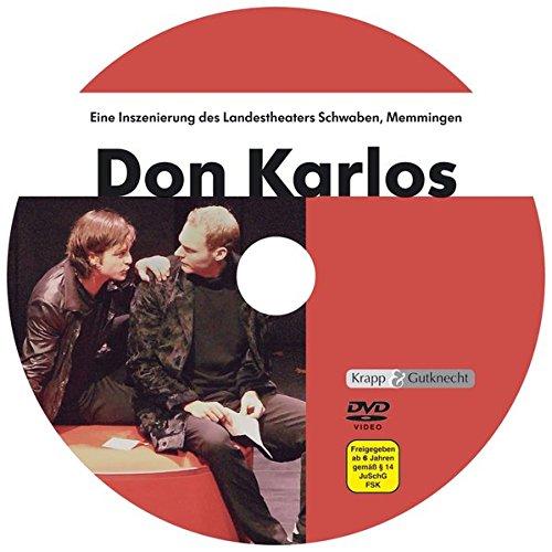 Preisvergleich Produktbild Don Karlos - Friedrich Schiller,  1 DVD