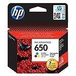 HP05O|#HP HP 650 Tri-colour Ink Cartridge HP 650 Tri-colour Ink Cartridge سماوي, أرجواني, أصفر