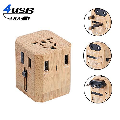 Reiseadapter, Universal Universal Conversion Stecker, USB Conversion Stecker, Geeignet für US EU UK AUS Handy Notebook (110V ~ 250V)