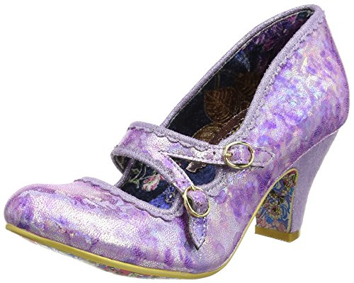 Irregular Choice Candy Whistle, Mary Jane femme Violet (Violet)