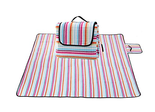 Wasserdichte Im Freien Picknickmatte Feuchtigkeitsdichten Öko-Tourismus,ColorBars-170*200