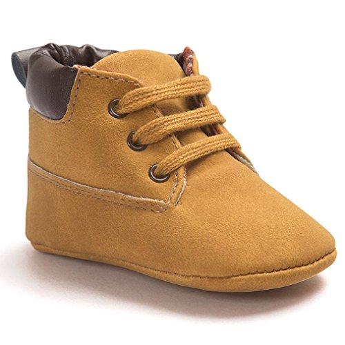 Babyschuhe,Binggong Baby Kleinkind weiche Sohle Lederschuhe Infant Boy Girl Kleinkind Schuhe Mode Babyschuhe Lauflernschuhe Baby Stiefel Warm Kinderschuhe (11, ()