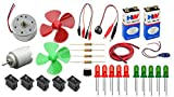 #1: PGSA2Z Electronics 30 Items Loose Parts Materials Science Project Kit