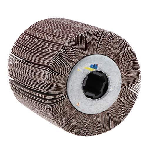 Fenteer Hochwertige Schleifrad Vlies-Gewebe, geeignet für Manifold, Aluminium, Edelstahl, Chrom usw - 320 körnung