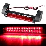 TOOGOO(R) KFZ Rot 14 LED Dritte Bremsleuchte Auto 3te. Bremslicht Stopplicht 12V